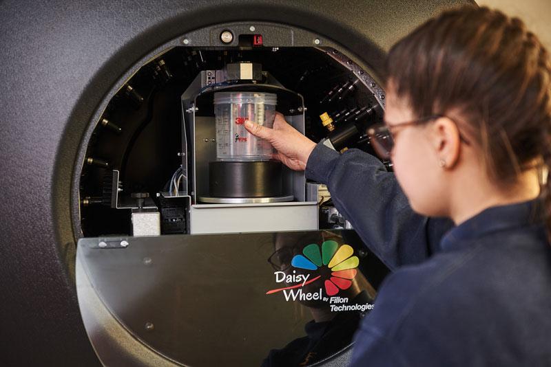 Farbmischanlage Daisy Wheel