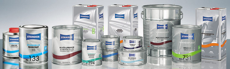 Standox Produktpalette